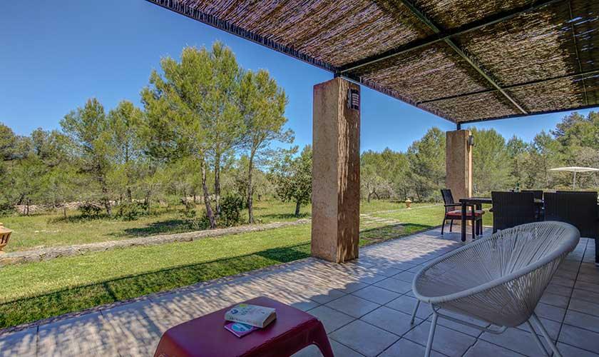 Terrasse Finca Mallorca bei Artá PM 5351
