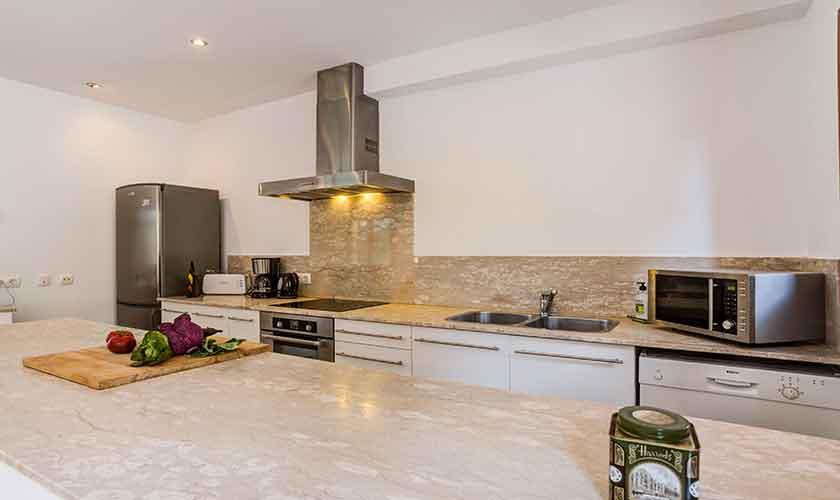 Küche Finca Mallorca bei Artá PM 5352