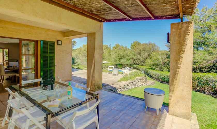 Terrasse Finca Mallorca bei Artá PM 5352