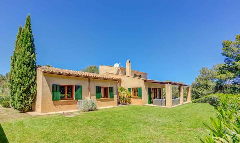 Garten und Finca Mallorca bei Artá PM 5352