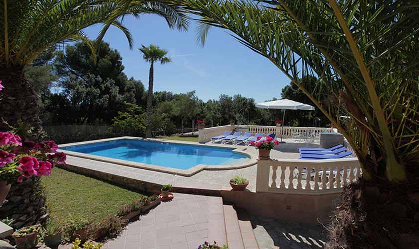 Poolblick Finca Mallorca Nordosten PM 542