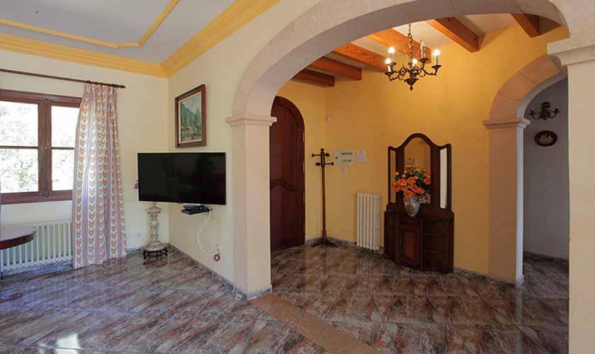 Wohnraum Finca Mallorca 10 Personen PM 542