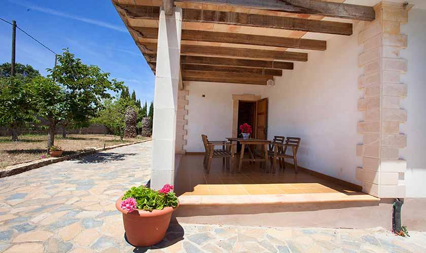 Terrasse Finca Mallorca 6 Personen PM 5424