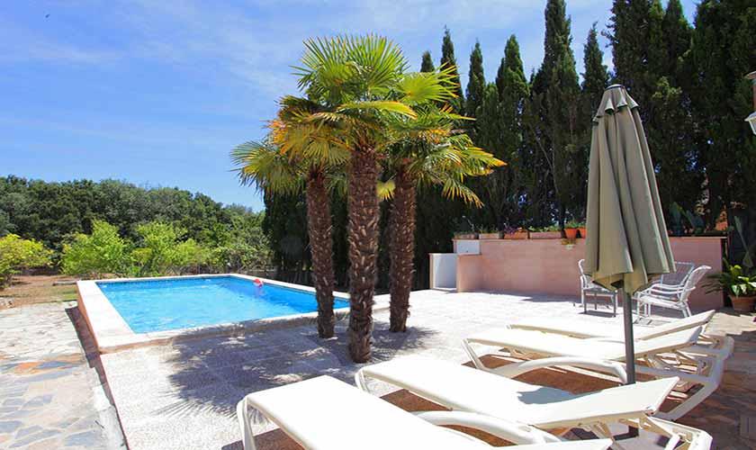 Pool und Terrasse Finca Mallorca 6 Personen PM 5424
