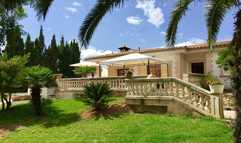 Blick auf das Ferienhaus Mallorca PM 5424