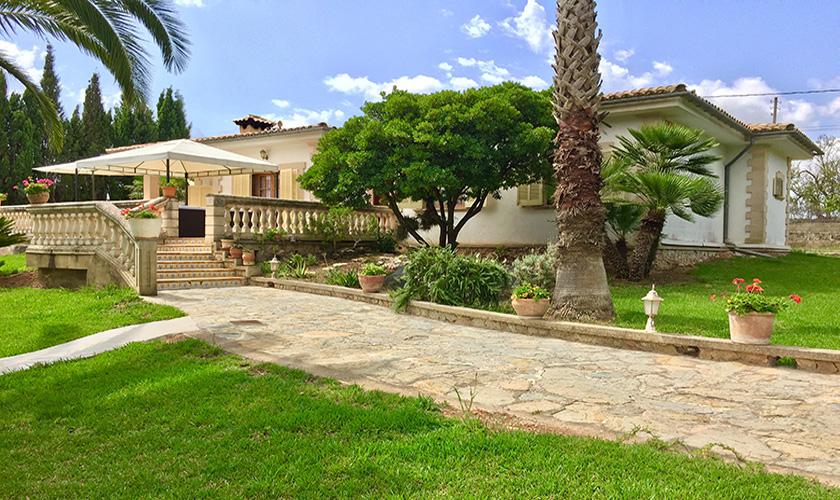 Garten Ferienhaus Mallorca PM 5424