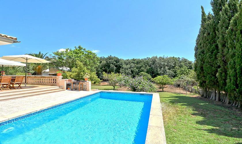 Poolblick Finca Mallorca PM 5424