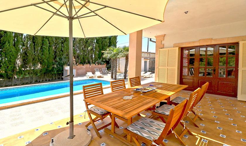 Terrasse Esstisch Finca Mallorca PM 5424