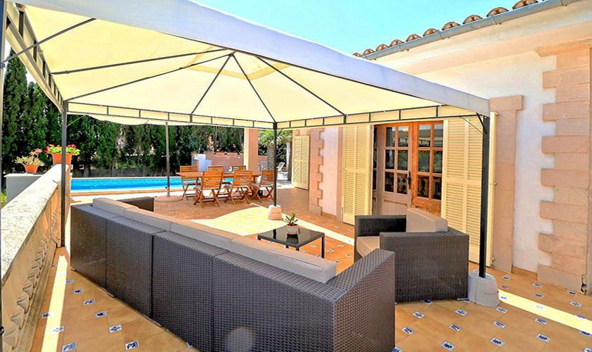 Terrasse Finca Mallorca PM 5424