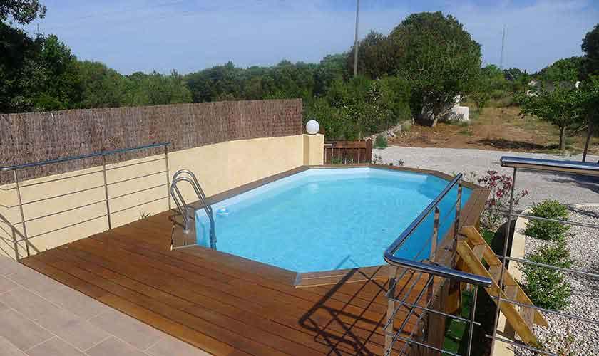 Pool und Terrasse Finca Mallorca PM 5496