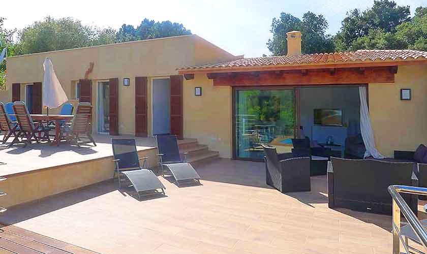 Terrasse und Finca Mallorca PM 5496