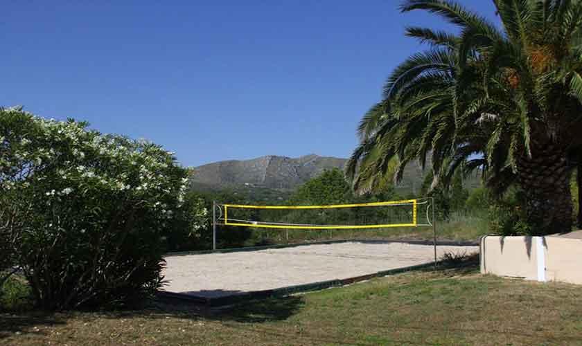 Beachvolleyplatz Finca Mallorca PM 551