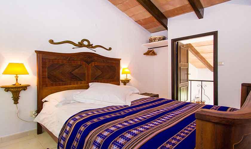 Schlafzimmer Finca Mallorca mit Pool PM 558