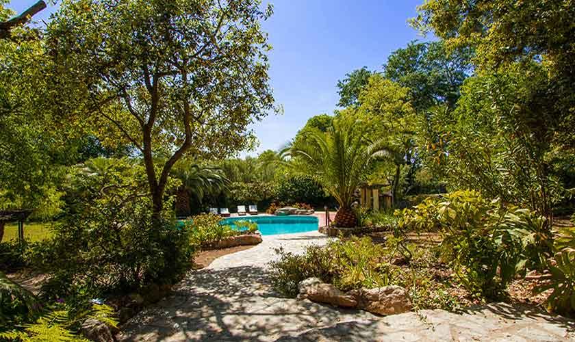 Pool und Finca Mallorca Nordosten PM 558