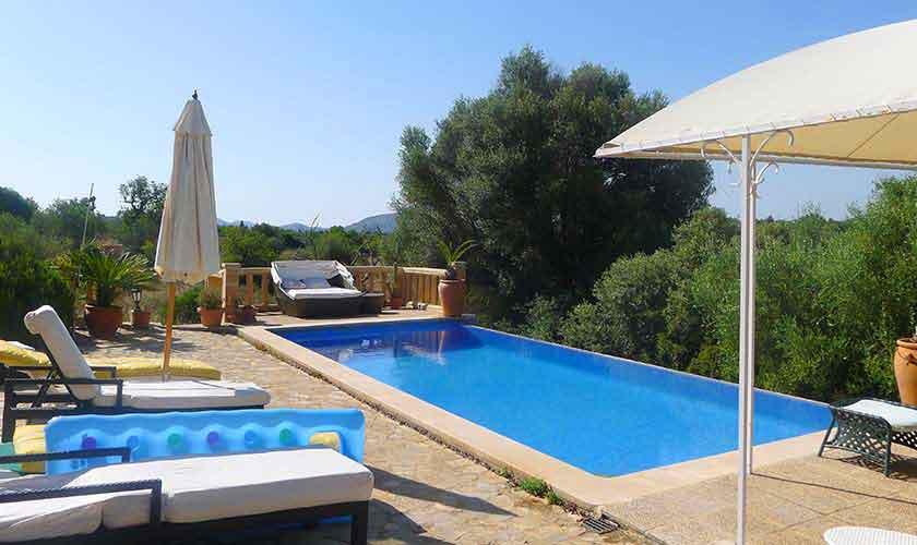 Pool Finca Mallorca für 10 Personen PM 5681