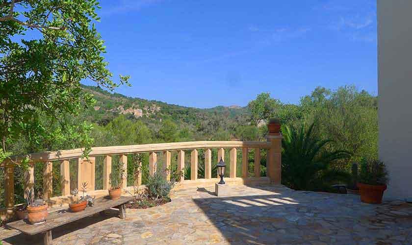 Blick von Finca Mallorca für 10 Personen PM 5681