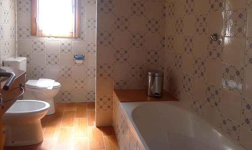 Badezimmer Finca Mallorca mit Pool PM 5681