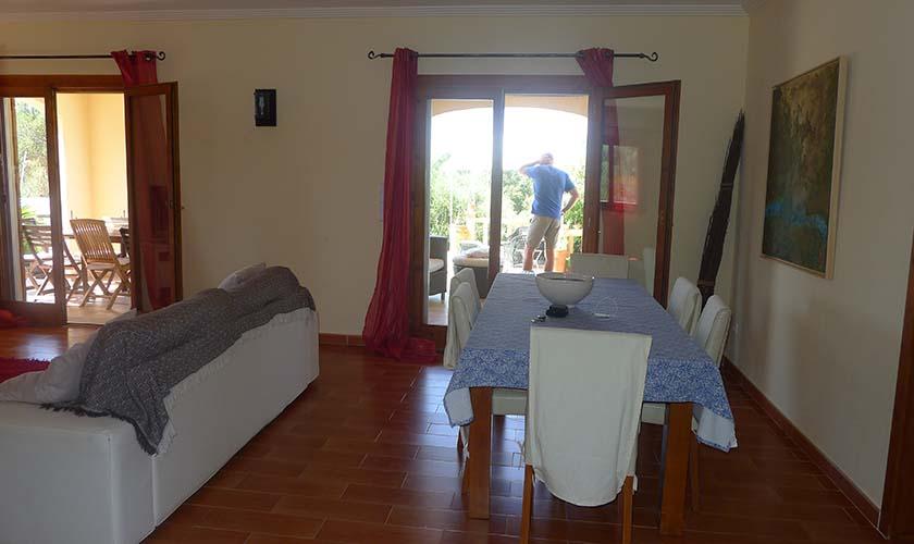 Wohnraum Finca Mallorca Pool PM 5681
