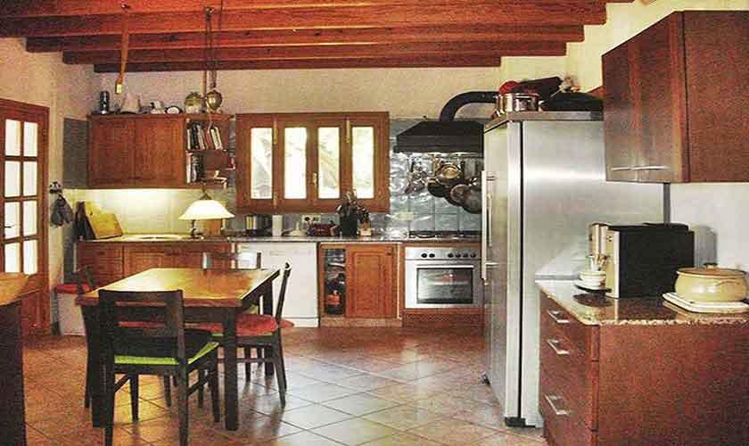 Küche Ferienhaus Mallorca Nordosten PM 5892