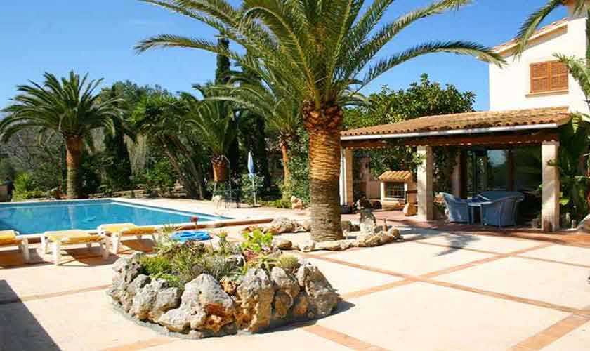 Pool und Ferienhaus Mallorca Nordosten PM 5892