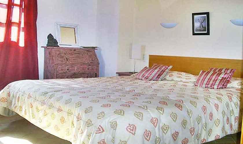Schlafzimmer Ferienhaus Mallorca Nordosten PM 5892