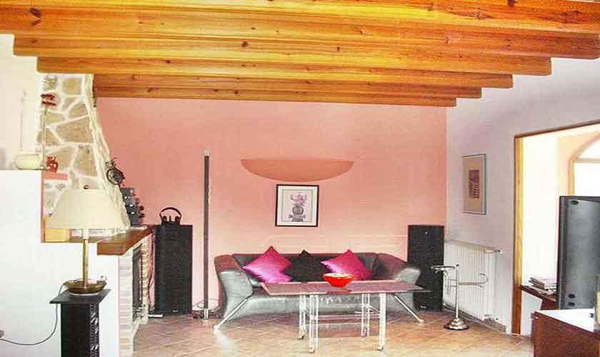 Wohnraum Ferienhaus Mallorca Nordosten PM 5892