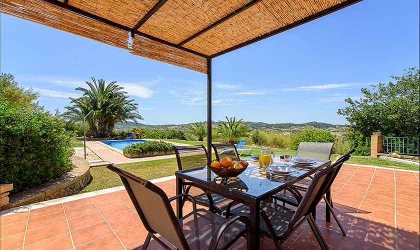Terrasse Finca Mallorca 6 Personen PM 6012