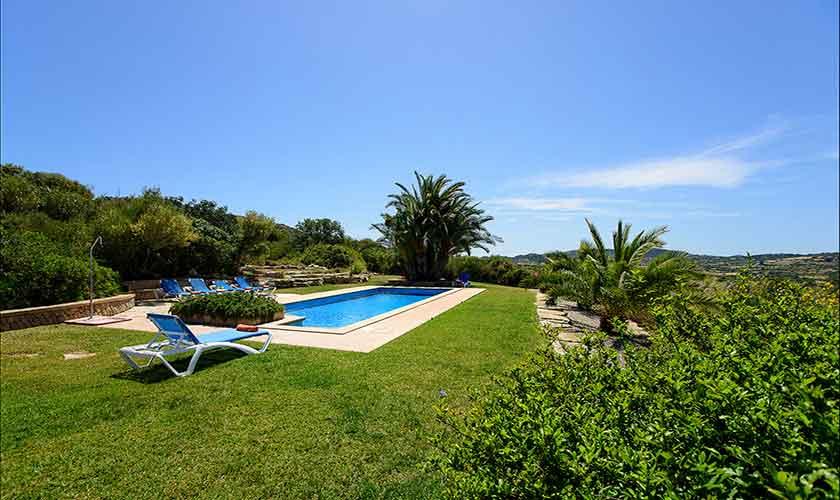 Pool und Garten Finca Mallorca 6 Personen PM 6012