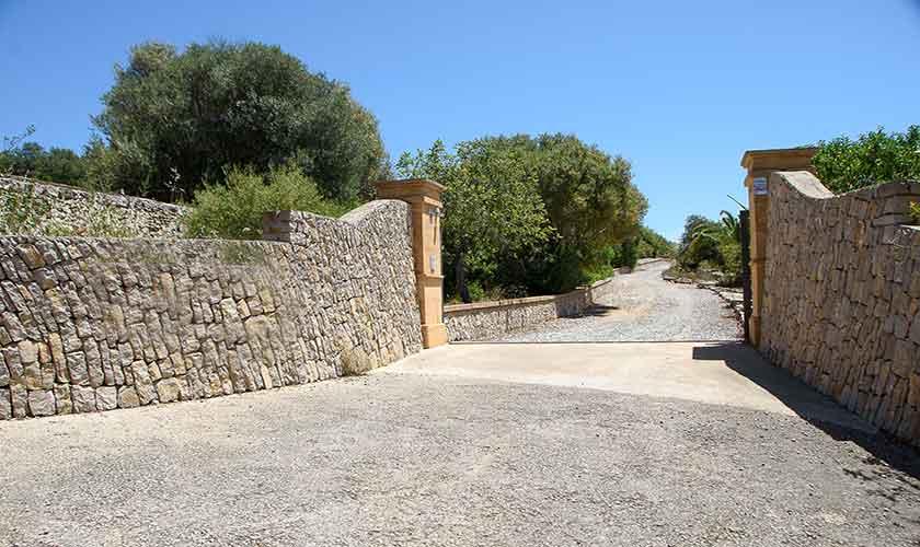 Eingangstor Finca Mallorca 6 Personen PM 6012