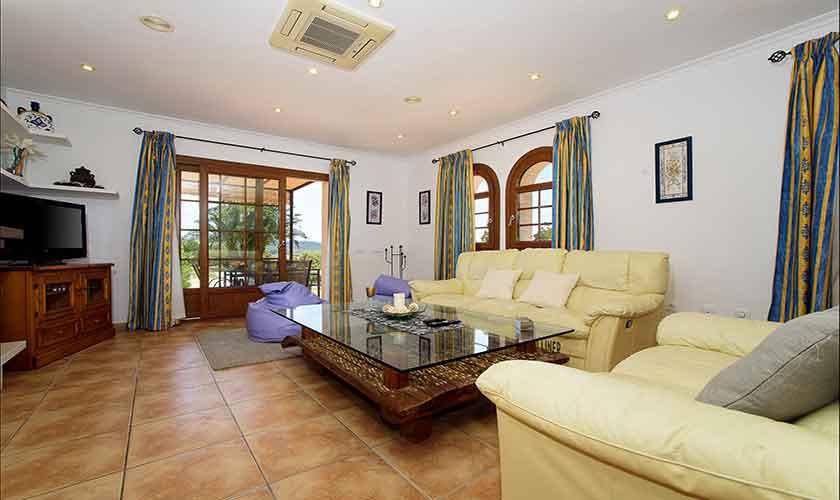 Wohnraum Finca Mallorca 6 Personen PM 6012