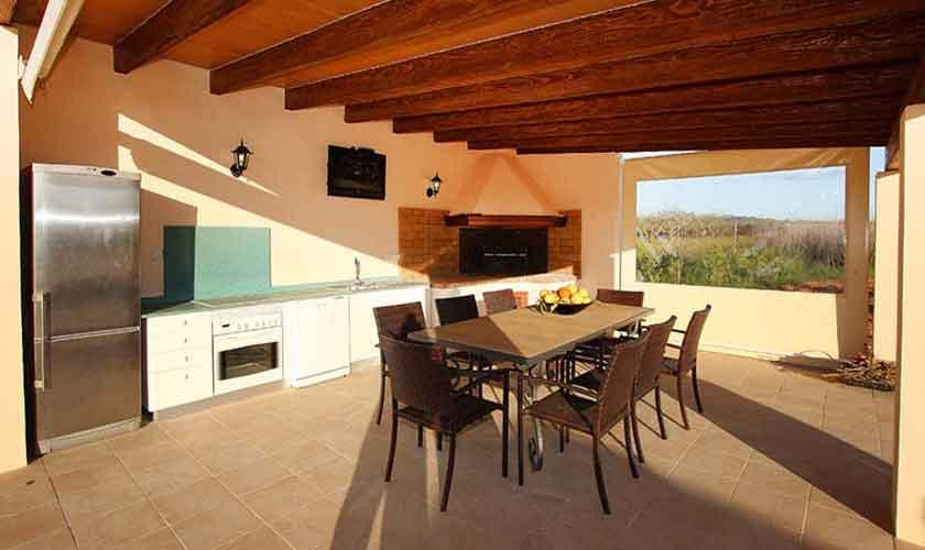 Terrasse Finca Mallorca Osten PM 6014