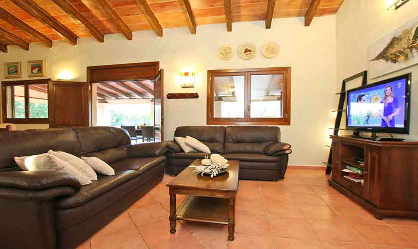 Wohnzimmer Finca Mallorca Osten PM 6014