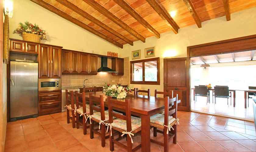 Küche Finca Mallorca Osten PM 6014