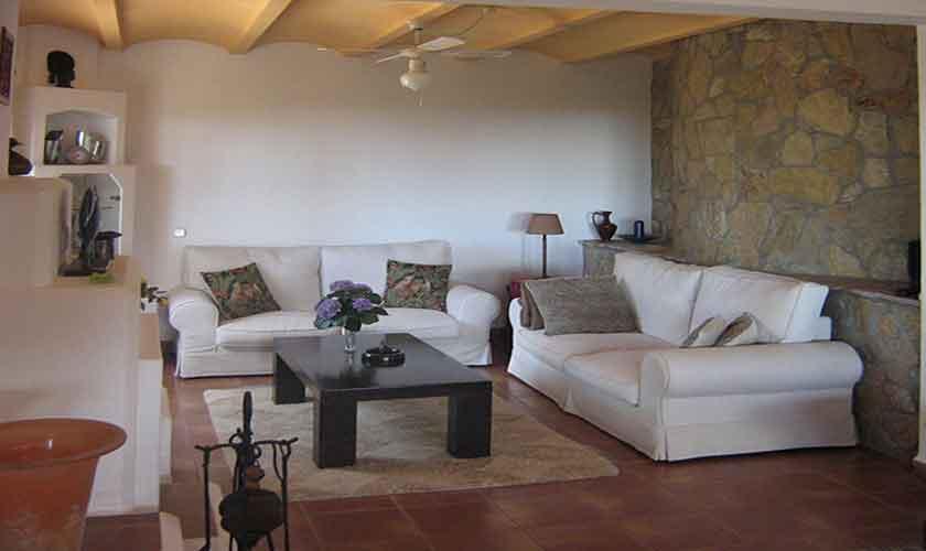 Wohnraum Ferienvilla Mallorca 4 Personen PM 605