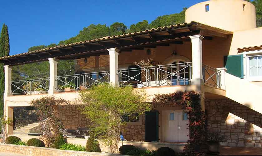 Blick auf die Ferienvilla Mallorca PM 605