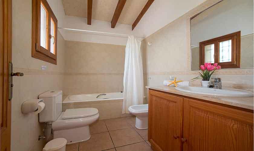 Badezimmer Finca Mallorca mit Pool PM 6054