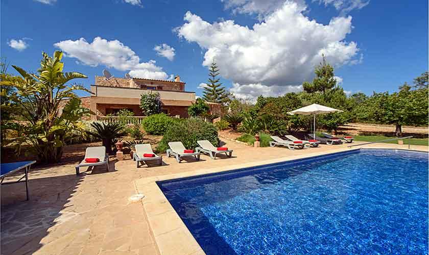 Pool und Finca Mallorca für 10 Personen PM 6054