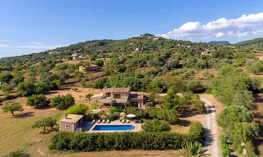 Pool und Finca Mallorca Südosten PM 6054