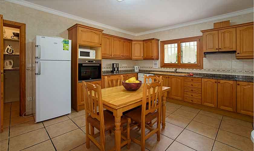 Küche Finca Mallorca mit Pool PM 6054