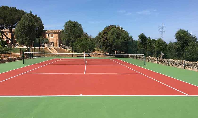 Tennisplatz Mallorca Finca PM 6056
