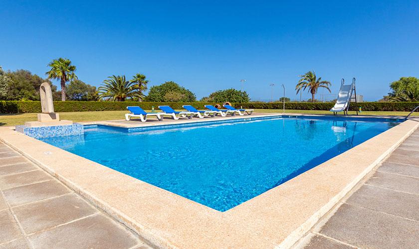 Poolblick Finca Mallorca PM 6071