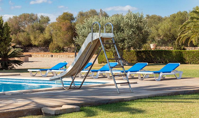 Pool und LIegen Finca Mallorca PM 6071