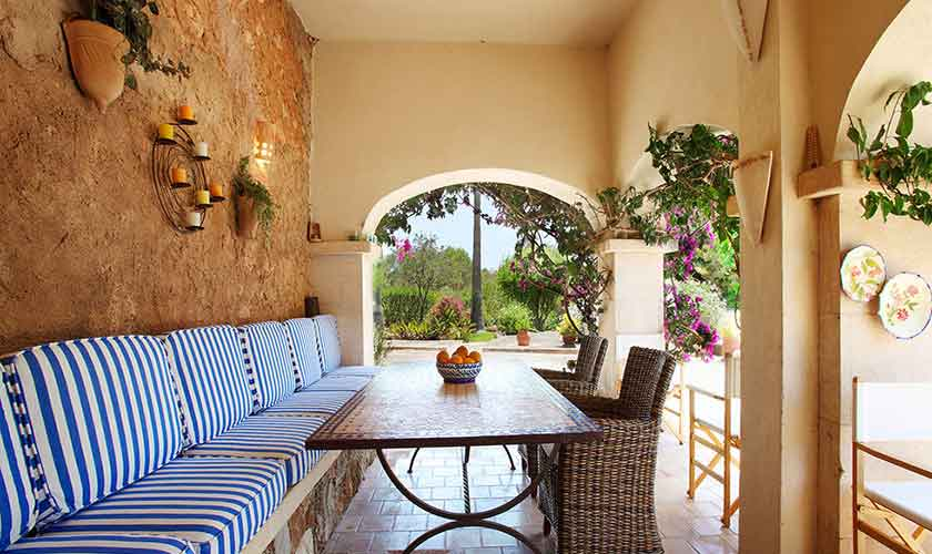 Terrasse Finca Mallorca PM 6074