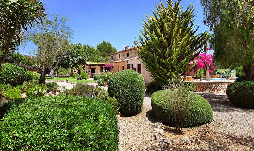 Garten Finca Mallorca PM 6074
