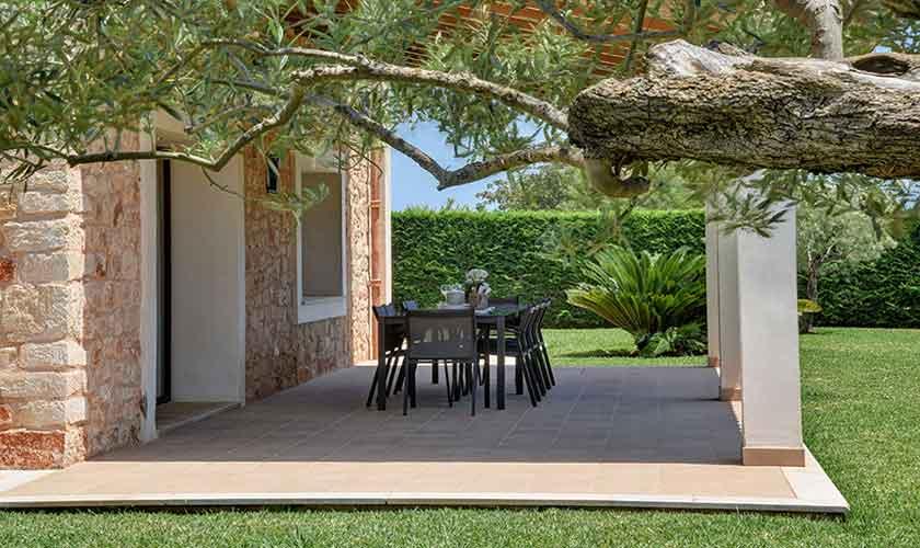 Überdachte Terrasse Finca Mallorca 10 Personen PM 6076
