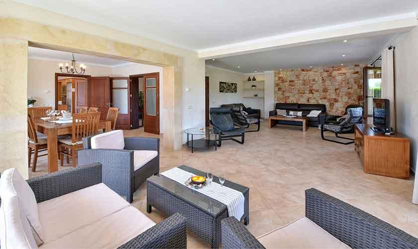 Wohnraum Finca Mallorca 10 Personen PM 6076