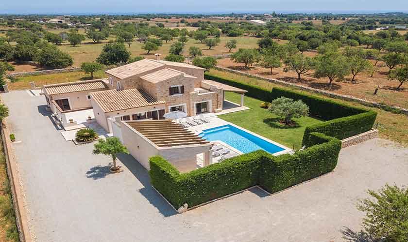 Luftbild Finca Mallorca PM 6076