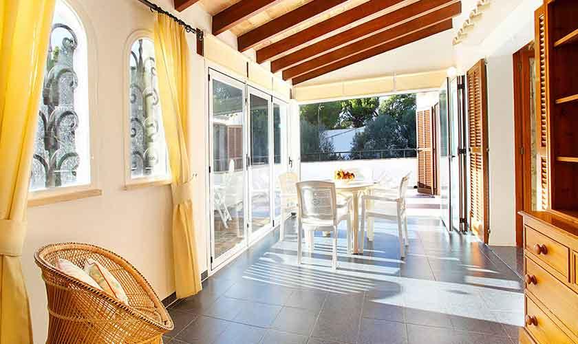 Terrasse Ferienhaus Mallorca PM 6082