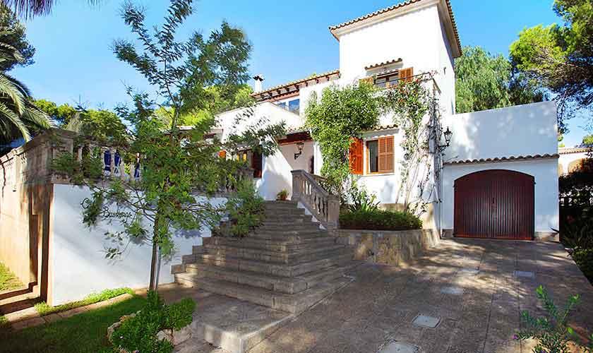 Blick auf das Ferienhaus Mallorca Porto Petro PM 6082