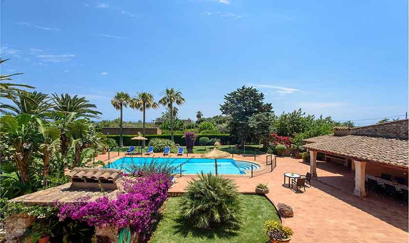 Umzäunter Pool und Finca Mallorca 10 Personen PM 6084